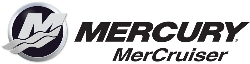 Gräskö Båtvarv är auktoriserade på Mercury / Mercruiser - logotyp